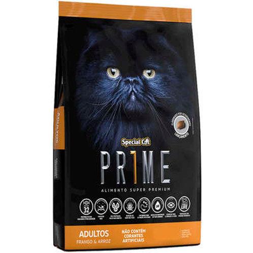 Ração Special Cat Prime Frango e Arroz para Gatos Adultos