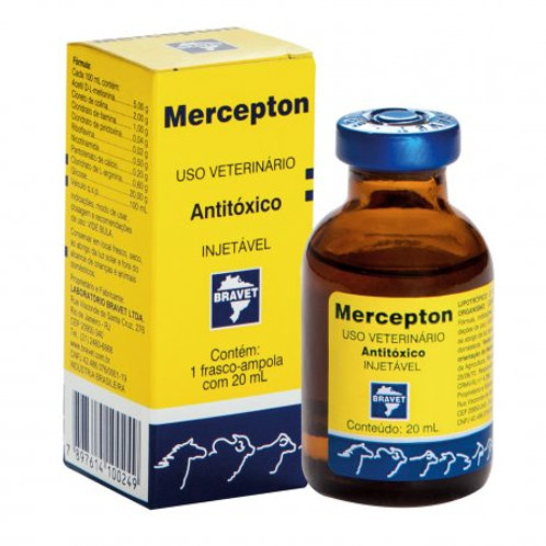 Mercepton Injetável 20 Ml