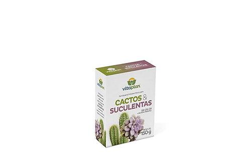 Cactos & Suculentas - Fertilizante farelado 150g