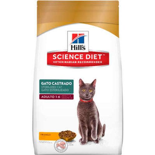 Ração Hills Science Diet Sterelized para Gatos Adultos Castrados