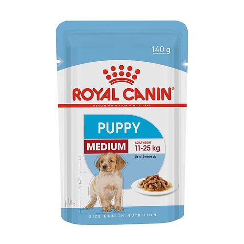 Ração Úmida Royal Canin Sachê para Cães Puppy Médio Filhotes 85g