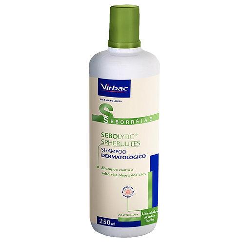 Shampoo Virbac Sebolytic Spherulites para Cães 250ml