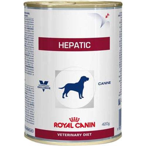 Ração Royal Canin Lata Canine Veterinary Diet Hepatic Wet para Cães com Doenças