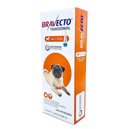 Antipulgas e Carrapatos MSD Bravecto Transdermal para Cães de 4,5 a 10 Kg