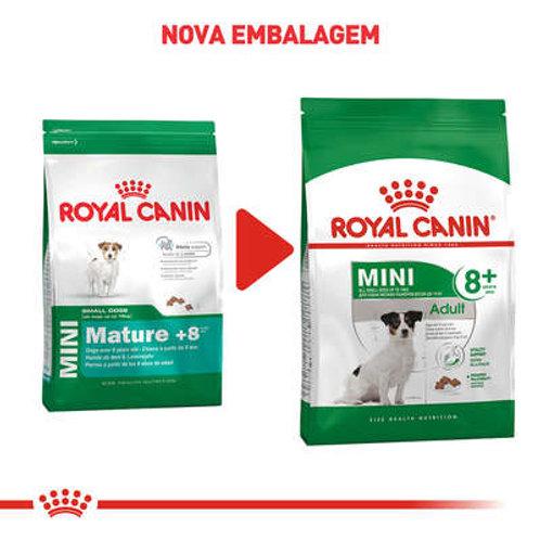 Royal Canin Mini Adult 8+ para Cães Adultos de Raças Pequenas