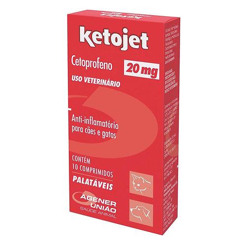 Ketojet Agener União 10 Comprimidos