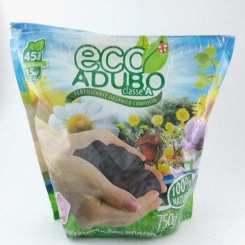 Adubo Orgânico Natural Ecoadubo Pacote De 750 Gramas