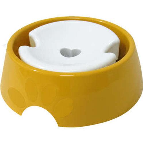 Bebedouro Furacão Pet Plástico Pop Amarelo Pelos Longos