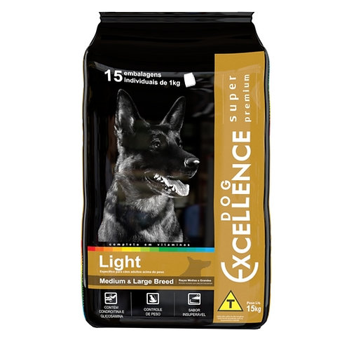 Dog excellence Super Premium Medium & Large Breed Light 15 kg
