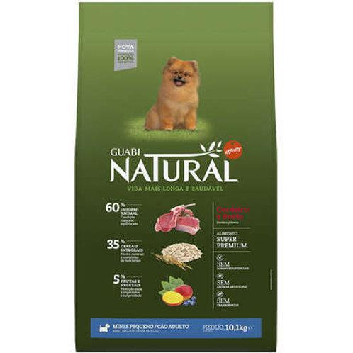 Guabi Natural Cordeiro e Aveia para Cães Adultos Raças Mini e Pequena