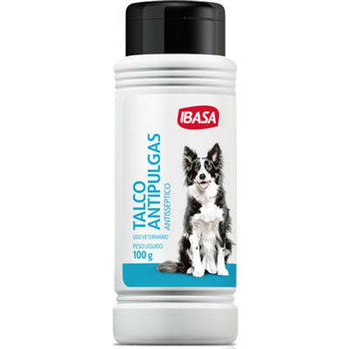 Talco Ibasa Antipulgas Ibapet para Cães - 100 g