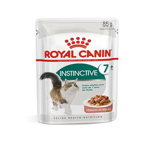 Ração Úmida Royal Canin Sachê Instinctive 7+ Gatos Adultos - 85g