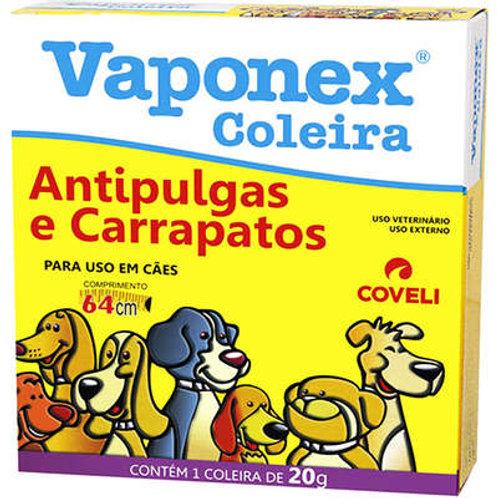 Coleira Antipulgas Coveli Vaponex para Cães - 20 g