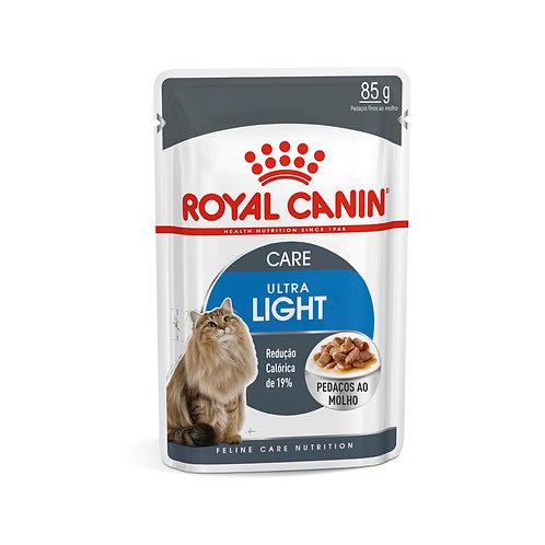 Ração Úmida Royal Canin Sachê Ultra Light - Gatos Adultos - 85g