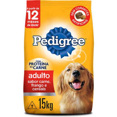 Pedigree Carne, Frango e Cereais para Cães Adultos Raças Médias e Grandes