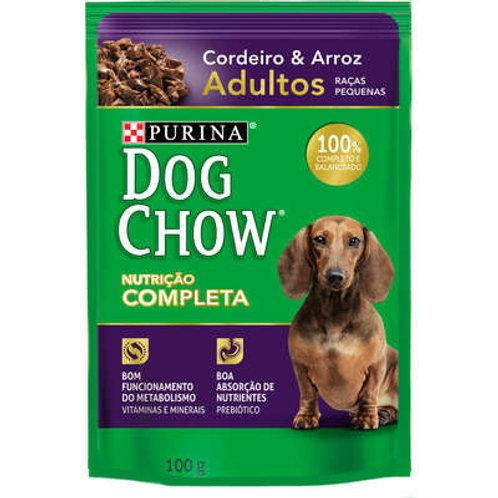 Ração Nestlé Purina Dog Chow Adultos Raças Pequenas Sachê Cordeiro e Arroz