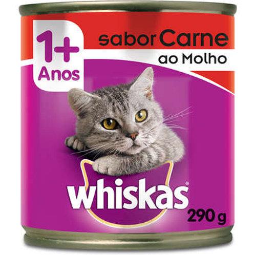 Lata Carne ao Molho para Gatos Adultos - 290 g