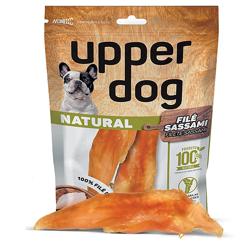 Petisco Natural Filé Sassami de Frango Upper Dog 2 unidades