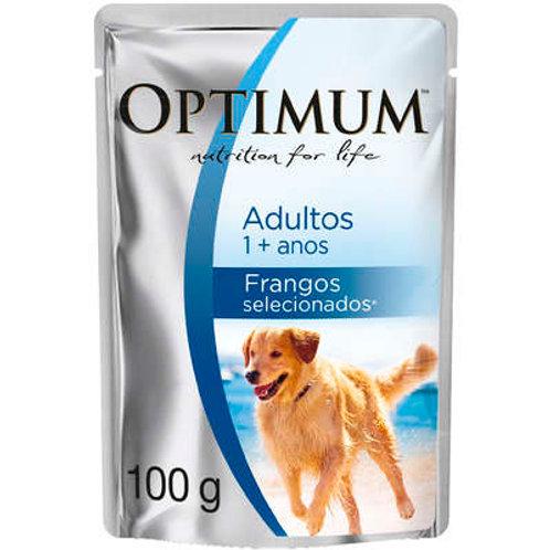 Ração Úmida Optimum Sachê para Cães Adultos Frango
