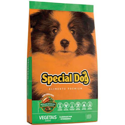 Ração Special Dog Júnior Premium Vegetais para Cães Filhotes