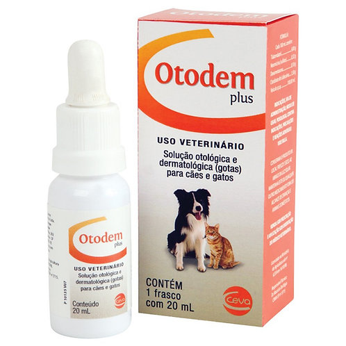 Otodem Plus Ceva 20ml