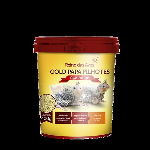 GOLD PAPA FILHOTES POTE 400g