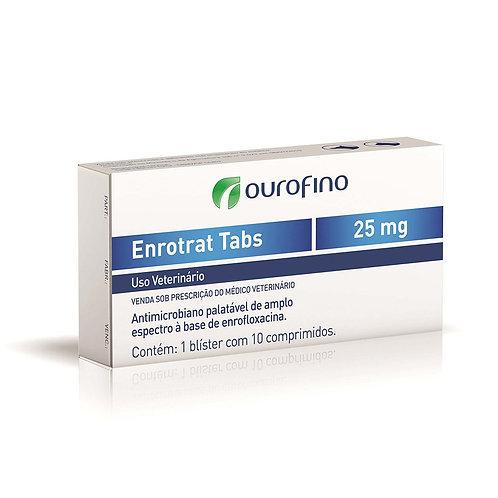 Enrotrat Tabs Ourofino 10 Comprimidos de 25mg