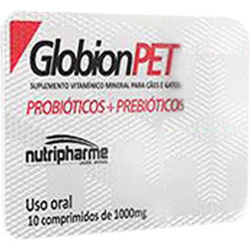 Suplemento Vitamínico Nutripharme GlobionPET para Cães e Gatos