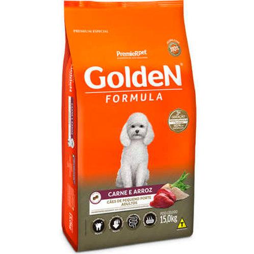 Golden Formula Carne e Arroz para Cães Adultos de Raças Pequenas