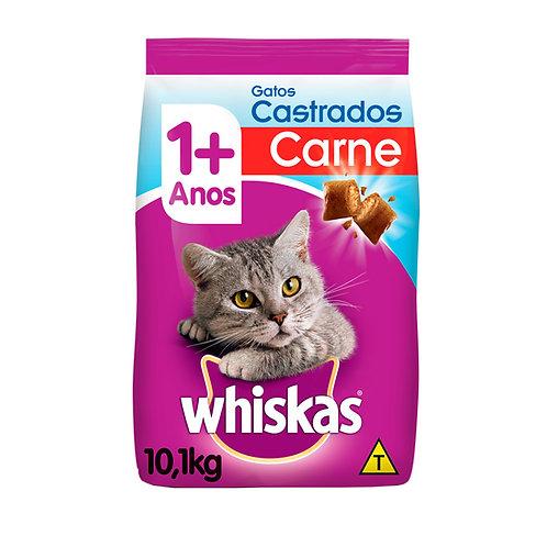 Whiskas para Gatos Adultos Castrados Sabor Carne