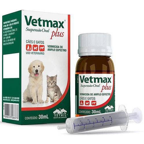 Vetmax Plus Suspensão Vetnil 30 ml