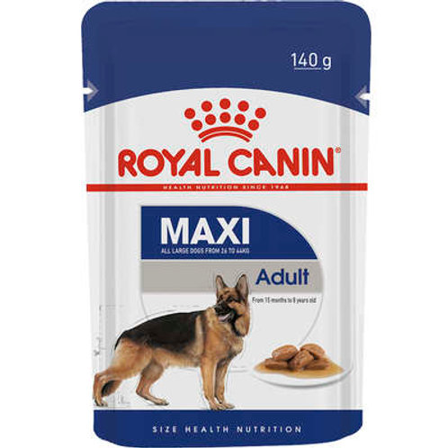 Ração Royal Canin Sachê Size Health Nutrition Adult Wet para Cães Adultos Raças