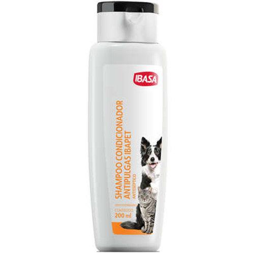 Shampoo e Condicionador Ibasa Antipulgas Ibapet - 200 mL