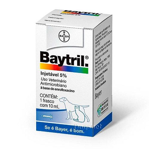 Baytril® Injetável 5%, Antibiótico de amplo espectro para Cães e Gatos