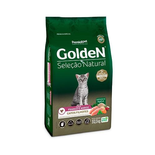 Ração Golden Seleção Natural para Gatos Filhotes Sabor Frango