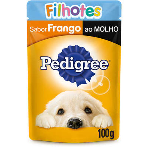 Ração Úmida Pedigree Sachê Frango ao Molho para Cães Filhotes