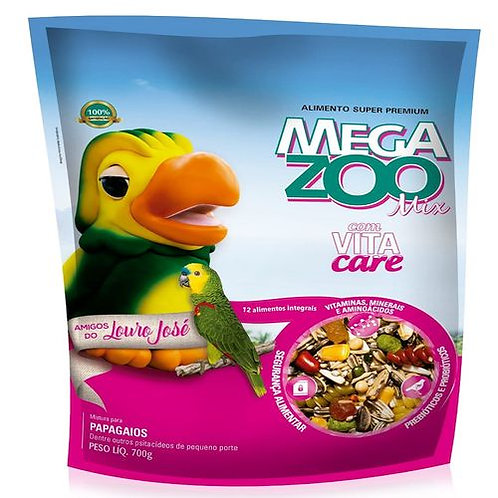 MegaZoo Mix Papagaio Louro Jose 700g