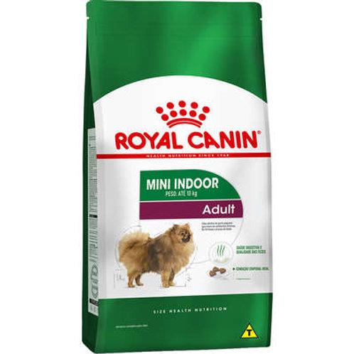Royal Canin Mini Indoor Adult para Cães Adultos de Raças Pequenas com 10 Meses