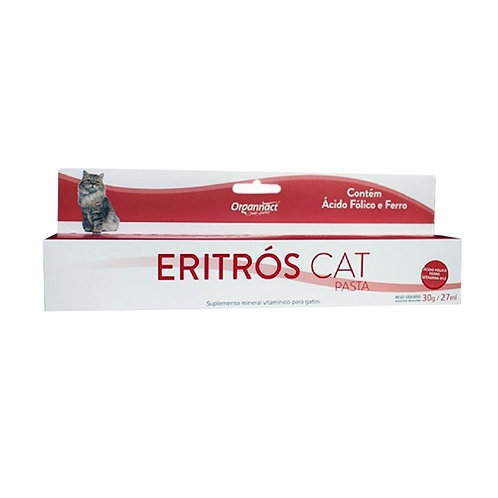 ERITRÓS CAT PASTA 30G - ORGANNACT