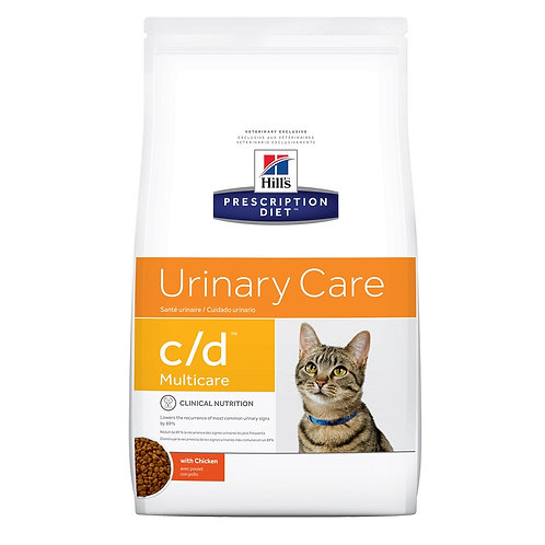 Ração Hills Prescription Diet C/D Multicare Cuidado Urinário Para Gatos Adultos