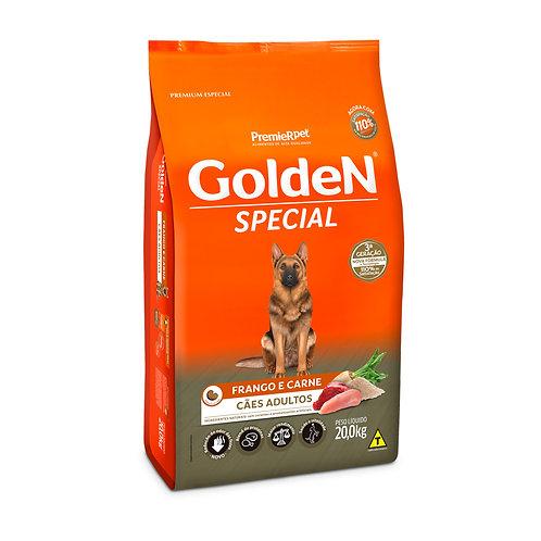 Ração Golden Special Sabor Frango e Carne para Cães Adultos 15 kg