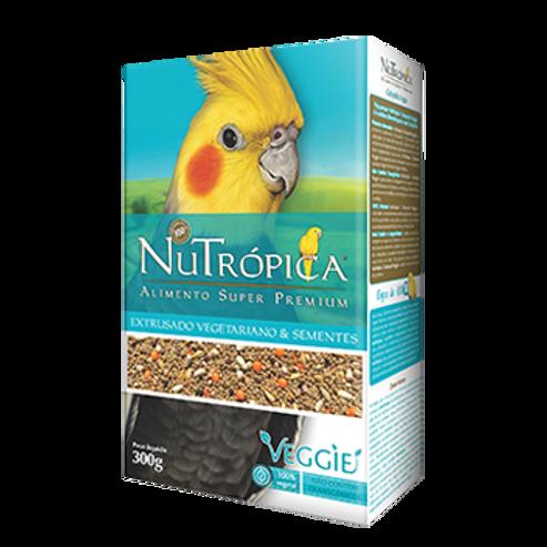 NUTRÓPICA® CALOPSITA VEGGIE – EMBALAGENS: 300G
