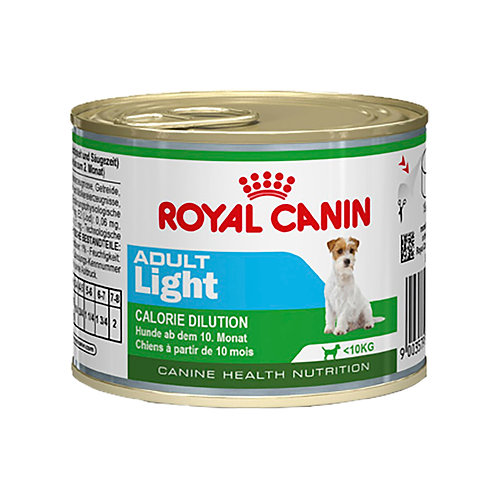 Royal Canin Mini Adult Light para Cães Adultos de Pequeno Porte - 195g