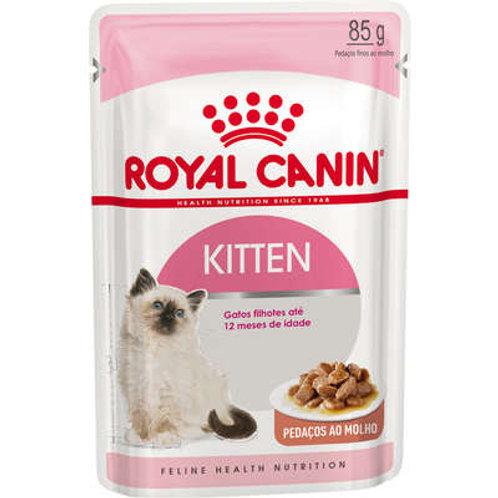 Ração Royal Canin Sachê Feline Kitten Instinctive para Gatos Filhotes com ate 12