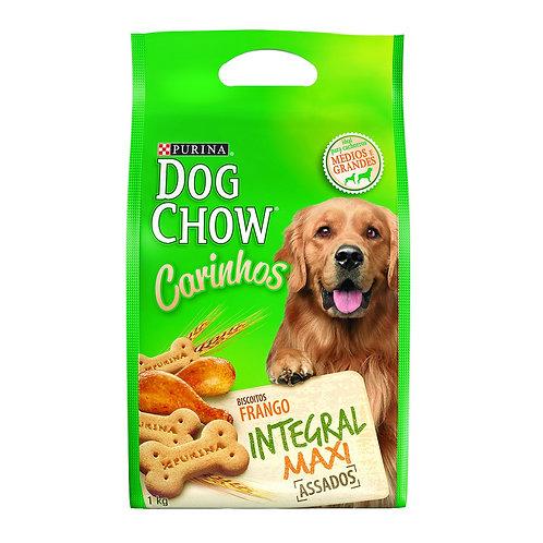 Biscoito Dog Chow Carinhos Integral para Cães Adultos de Raças Médias e Grandes