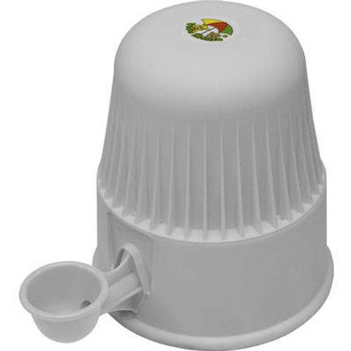 Bebedouro Vida Mansa Light Polipropileno PP Branco para Raças Pequenas 2L