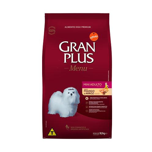 Gran Plus para Cães Adultos Raças Mini sabor Frango e Arroz