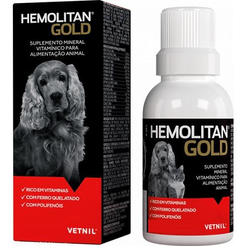 Suplemento Alimentar Hemolitan Gold - Líquido 60 ml