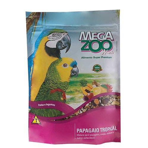 Ração Para Papagaio Tropical Megazoo 700g