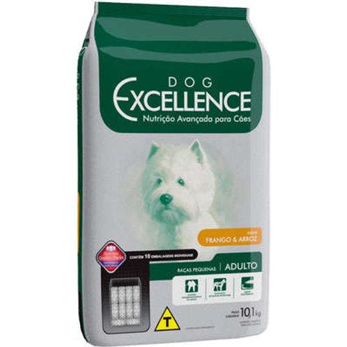 Dog Excellence Cães Adultos Raças Pequenas Frango com Arroz